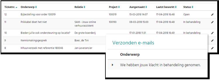 SAM - Servicedesk